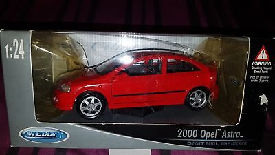 1/24 Welly collection - Opel Astra G 3 portes rouge (rare)
