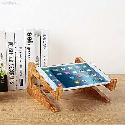 Bracket Notebook Stably for MacBook Pro GSS Wooden Holder Mount Laptop Stand
