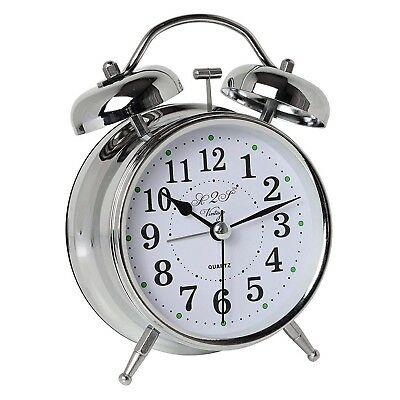 Old Fashioned Alarm Clock Heavy Sleepers Vintage Style Best Analog Twin Bell