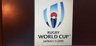 2019 Rugby world cup final official programme from Japan