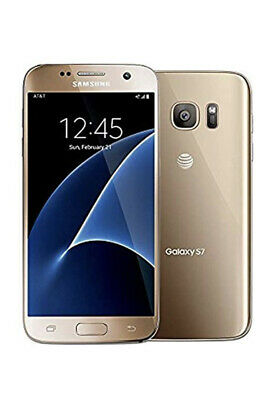 NEW in Box Samsung Galaxy S7 SM-G930A 32GB Gold Platinum AT&T Unlocked Android