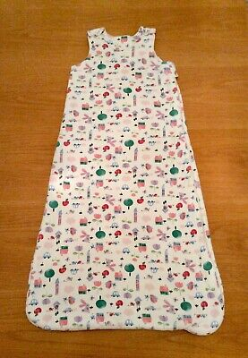 Marks & Spencer Pure Cotton 2.1 Tog Baby Sleeping Bag - Size: 18-36 Months