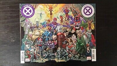 Marvel Comics Lot Of 2 House Of X #6 Powers Of X #6 Connecting Cover Set Vf/Nm