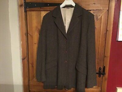 Ladies Caldene Vintage Tweed Hacking Jacket 38""