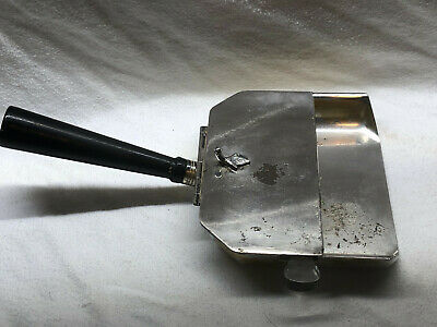 The Sheffield Silver co. Table crumb dustpan & broom