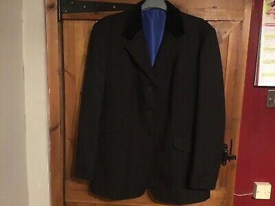 Ladies Gorringe Black Show Hunting Dressage Jacket 40""