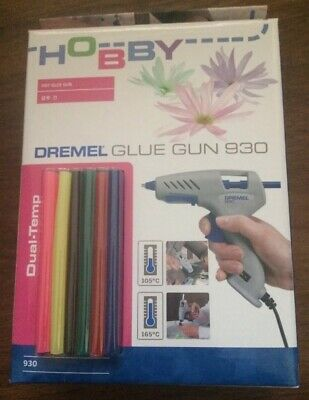 Dremel Hot Glue Gun Dual Temp Bnib Rrp70 Bargain