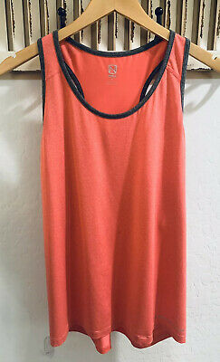 Noble Outfitters Kahla Racer Back Tank Top Aqua Sky Equestrian Riding NEW 2XL