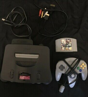 *TESTED* Nintendo 64 N64 Video Game Console System Controller, Cords Bundle Lot
