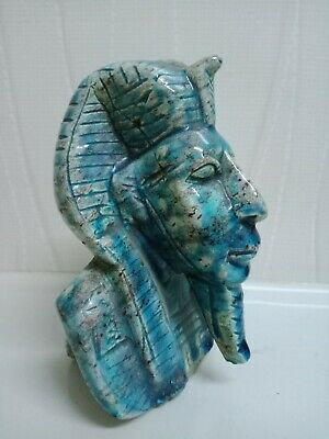 Amanht the second. A rare piece of glazed Hummer stone