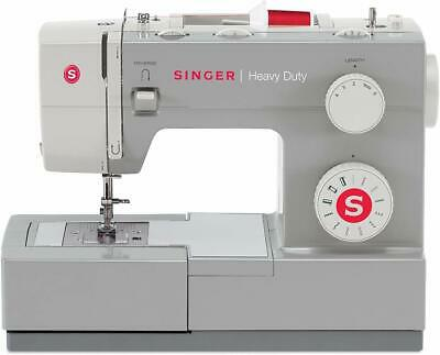 Singer Heavy Duty Sewing Machine Portable Industrial Leather Embroidery Craft