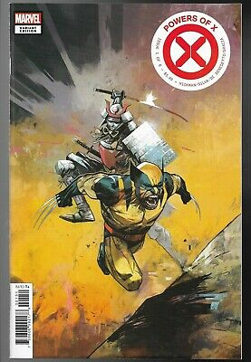 Powers of X #1 Mike Huddleston 1:10 Variant Wolverine