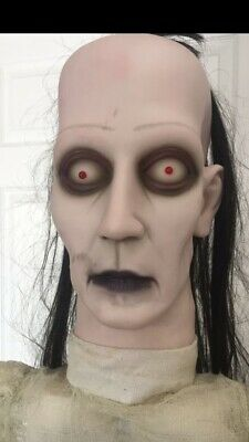 Donna The Dead Porch Treater Greeter Gemmy Life Size Halloween Prop Candy Bowl