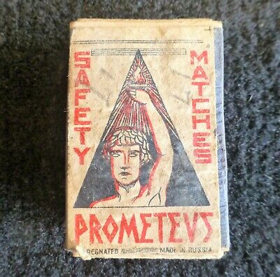 Rare Safety Match Matchbox Made In Russia