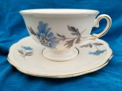 Vintage Porcelain Cup & Saucer Prinzess KPM A.D.1831 Germany Real Gold Inlay