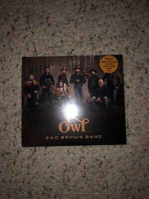 The Owl, Zac Brown Band 2019 Release CD, Unopened