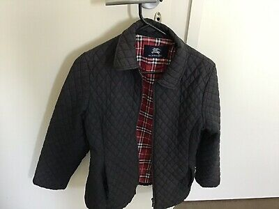 Girls Genuine burberry Quilted Jacket Age 12