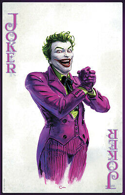 Joker Year Of The Villain #1 Crain Convention Yotv Variant Dc Comics Batman