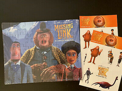 Rare Laika Missing Link Puzzle 2019 Regal IMAX with Stickers, Brand New