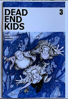 Dead End Kids #3 First Prints Source Point Press Comics Sold out! 2019