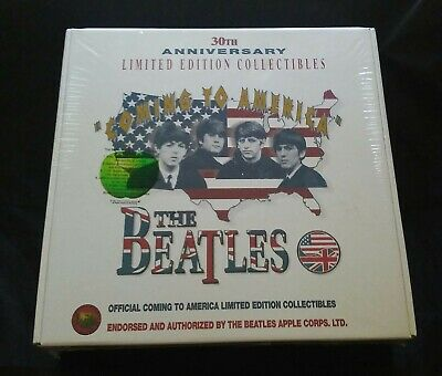 1994 RARE SEALED The Beatles Coming To America Limited Edition Gift Box Set NR!