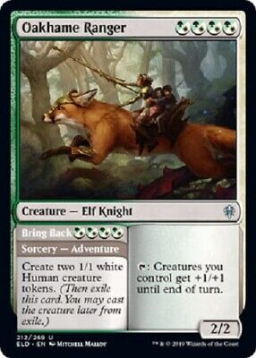 Oakhame Ranger 4x uncommon Throne of Eldraine  MTG magic the gathering 4x