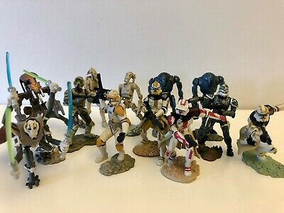 Star Wars Unleashed Battle Packs Lot - Clone & Droid Army + General Grevious Fig
