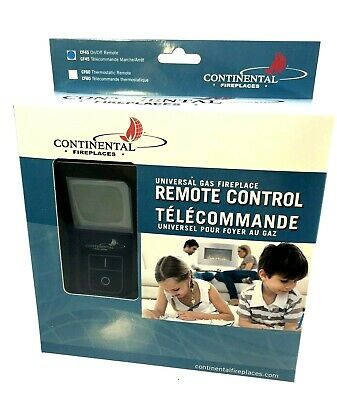 Wolf Steel CF45 Universal Gas Fireplace Remote Control Continental 60 Napoleon