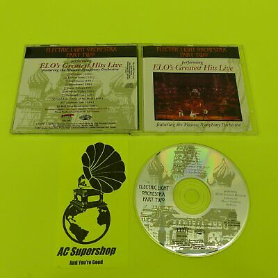 Electric Light Orchestra greatest hits live part II - 2 - CD Compact Disc