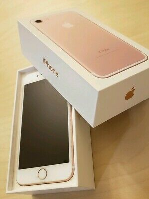 Apple iPhone 7 - 32GB - Rose Gold (Verizon) clean one owner