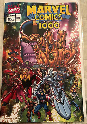 MARVEL COMICS #1000 October 2019, First Print, 90's Ron Lim Variant NM