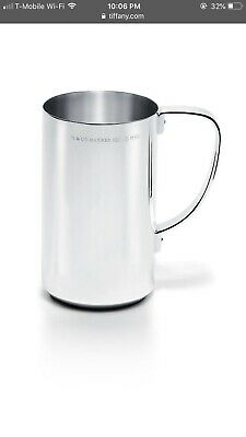 tiffany & co, Makers Beer Mug in Sterling Silver 925