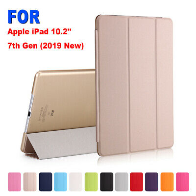 Ultra Slim Magnetic Smart Case Leather Cover For Apple iPad 10.2'' 7th Gen 2019.