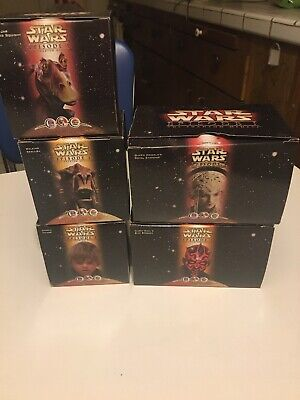 1999 Star Wars Episode 1 KFC Taco Bell Pizza Hut Toy Set 5 Piece Lot