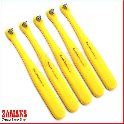 Set Of 5 Orthodontic Instruments High Heat Yellow Bite Stick Orthodontic Lab New