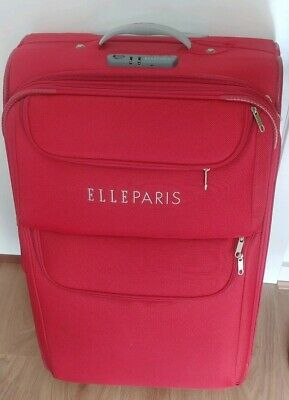 Elle Luggage Study with Wheels Travel in Style