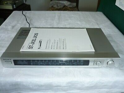 Vintage Sony ST-JX2S AM / FM Stereo Tuner in Immaculate Condition