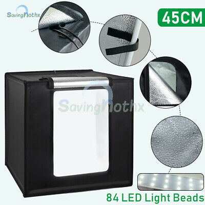 Light Boxes for Photography Softbox Tent Photo Studio LED Lighting Backdrop Bar