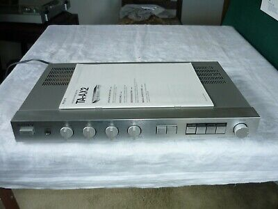 Vintage Sony TA-AX2 50 Watt Stereo Integrated Amplifier in Immaculate Condition