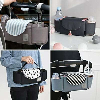 Stroller Pram Pushchair Baby Organiser Storage Buggy Cup Bottle Holder Bag Ucls
