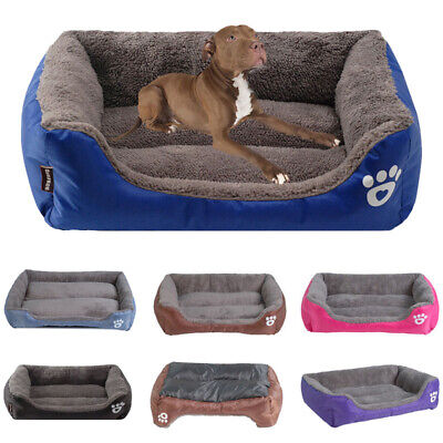 Pet Dog Bed for Small Large Dogs Waterproof Bottom Dog Sofa Bed Soft Cat Cushion