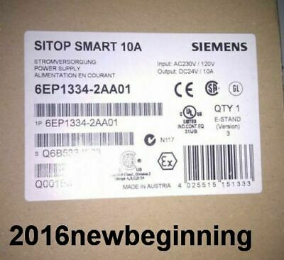DHL/FedEX New In Box SIEMENS 6EP1 334-2AA01 switching power supply