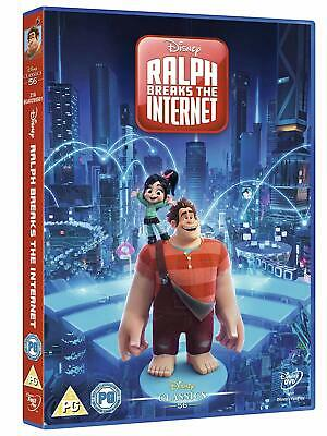 Ralph Breaks the Internet Wreck it Ralph 2 (New Sealed Disney DVD)