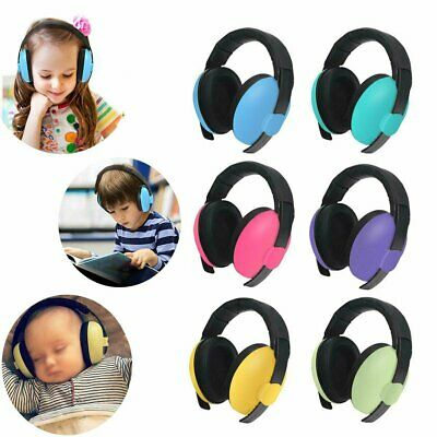 Kids Baby Adjustable Noise Cancelling Headphones Earmuffs Hearing Ear Protect XD