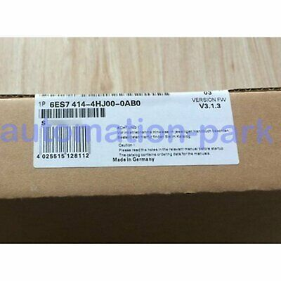New In Box Siemens 6ES7414-4HJ00-0AB0 6ES7 414-4HJ00-0AB0 DHL free shipping
