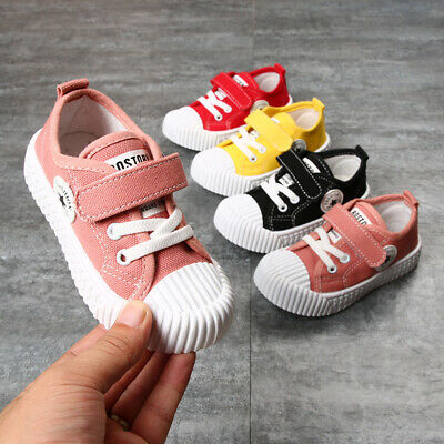 2019 Kids Boy Girl Canvas Shoes Trainers Children Student Casual Sport Shoes B