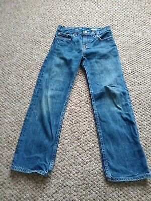 Ralph Lauren Polo Boys Jeans Age 7 Years. Blue Distressed
