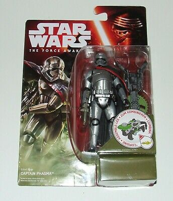 Star Wars New The Force Awakens Wave 1 Captain Phasma Moc Figure Build A Weapon