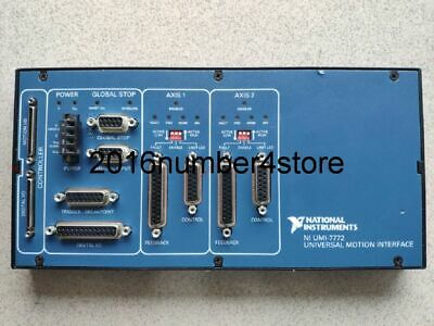 100% test NI UMI-7772 NATIONAL INSTRUMENTS with 90days warranty Free DHL or FedE