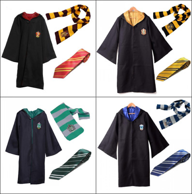Harry Potter Capo Grifondoro Abito Cosplay Costume Serpeverde COS 3PCS Hot